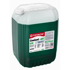 Антифриз TOTACHI NIRO COOLANT Green (- 40 гр. С зеленый) 20кг