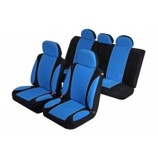 Комплект автомобильных чехлов AZARD Sky Jet, Синие
