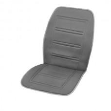 Подогрев сиденья со спинкой SKYWAY с терморегулятором (2 режима) 95х47см 12V Серый