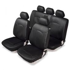 Комплект автомобильных чехлов SENATOR Кожа Sierra. Серые
