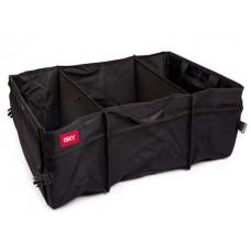 Органайзер в багажник iSky, полиэстер, 66x39x36,5 см, черный