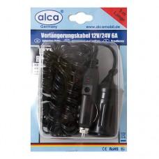 Удлинитель прикуривателя 5м 12V ALCA