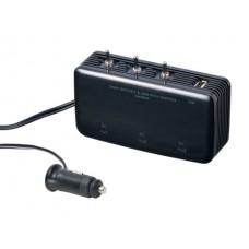 3 WAY SWING NECK SOCKET - Разветвитель для прикуривателя на 3 гнезда с USB выходом.