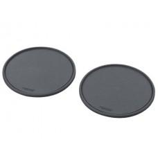 Противоскользящий коврик круглый с бортом 180 х 80 х 6 мм (2 шт)