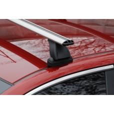 Багажник в комплекте с аэродинамическими дугами в пластике для а/м Lada Granta (седан) 2011-...