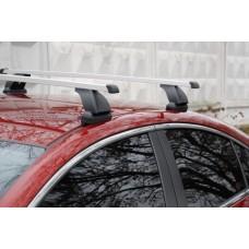 Багажник в комплекте с прямоугольными дугами для а/м Peugeot 308 (хэтчбек 3д) 2008-...