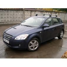 Багажник в комплекте с аэродинамическими дугами для а/м Kia Ceed (хэтчбек) 2007 -...