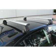 Багажник в комплекте с аэродинамическими дугами для а/м Mazda 3 (хэтчбек) 2009-...