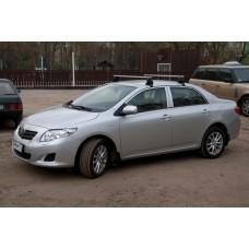 Багажник в комплекте с аэродинамическими дугами Toyota Corolla (седан) 2006-...