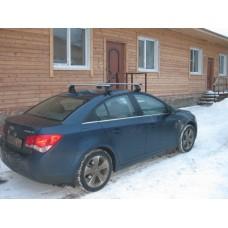 Багажник в комплекте с аэродинамическими дугами для а/м Chevrolet Cruze (седан) 2009 -...