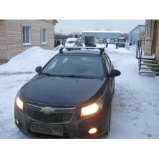 Багажник в комплекте с аэродинамическими дугами для а/м Chevrolet Cruze (хэтчбек) 2011 -...