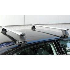 Багажник в комплекте с аэродинамическими дугами для а/м Hyundai Solaris (хэтчбэк) 2011-...