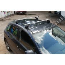 Багажник в комплекте с прямоугольными дугами для а/м Peugeot 307 (хэтчбек) 2001-2008