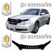 Дефлектор капота (Черный) для Subaru Legacy Универсал