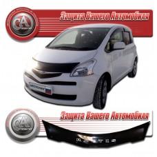 Дефлектор капота (Черный) для Toyota Ractis