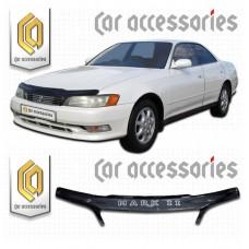 Дефлектор капота (Черный) для Toyota Mark-2