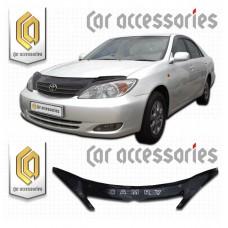 Дефлектор капота (Черный) для Toyota Camry