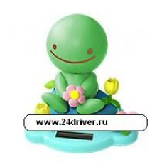 """""""Нокохон с цветком"""" зеленый"""