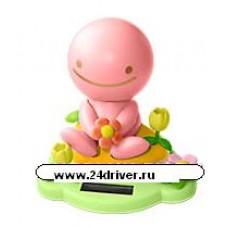 """""""Нокохон с цветком"""" розовый"""