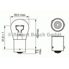 Автолампа Bosch PY21W Pure Light