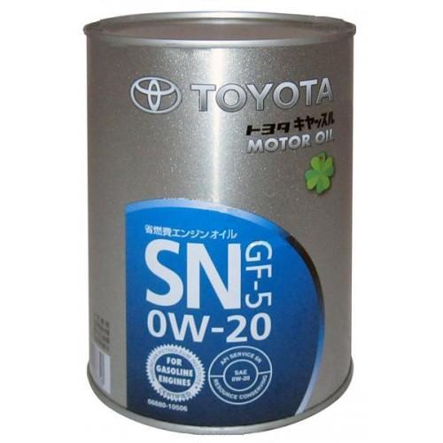 Toyota Castle Motor Oil Sm 0w20