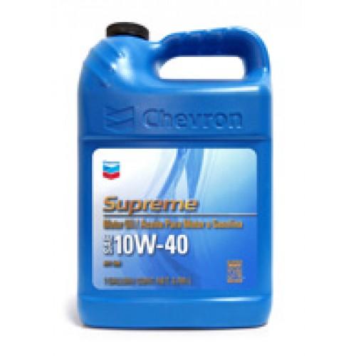 Chevron Supreme Motor Oil Sae 10w 40 4 730