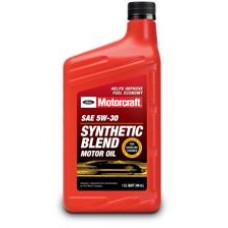 Ford Motorcraft SAE 5W-30 Synthetic Blend Motor Oil, 946мл (США).