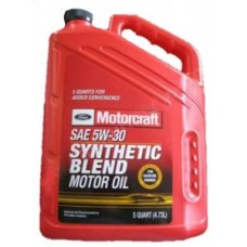 Ford Motorcraft SAE 5W-30 Synthetic Blend Motor Oil, 4,73 л (США).