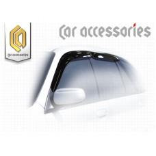 Ветровики дверей (Полупрозрачный) для Mazda Familia