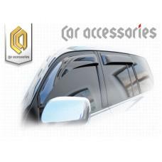 Ветровики дверей (Полупрозрачный) для Toyota Land Cruiser 200