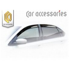 Ветровики дверей (Полупрозрачный) для Volkswagen Polo седан