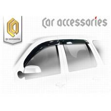 Ветровики дверей (Полупрозрачный) для Renault Duster