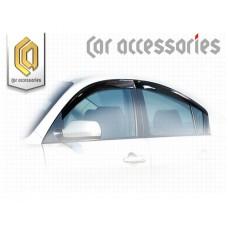 Ветровики дверей (Полупрозрачный) для Mazda 3